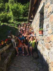 Foto di gruppo - Soggiorno Oasi Zegna 2018